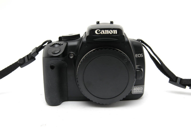 Used Canon EOS 400D Camera Body - Black (Faulty)
