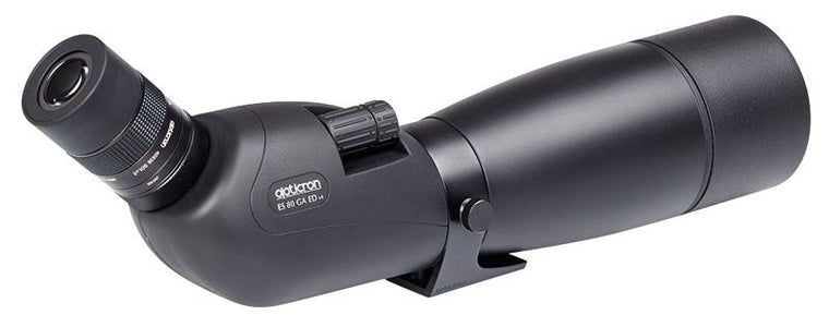Opticron ES 80 GA ED/45 v4 Angled Spotting Scope With 20-60x SDL v2 Eyepiece