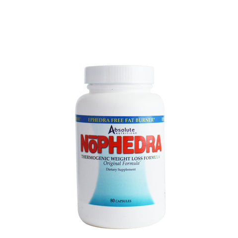 NoPhedra Thermogenic Weight Loss 80ct