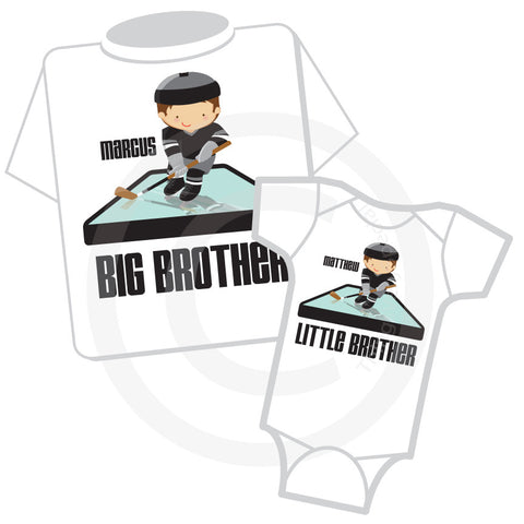 Big Brother Little Brother Hockey Shirts 01282016c ThingsVerySpecial