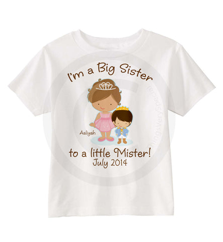 Big Sister to a Little Mister Shirt 07072014b ThingsVerySpecial