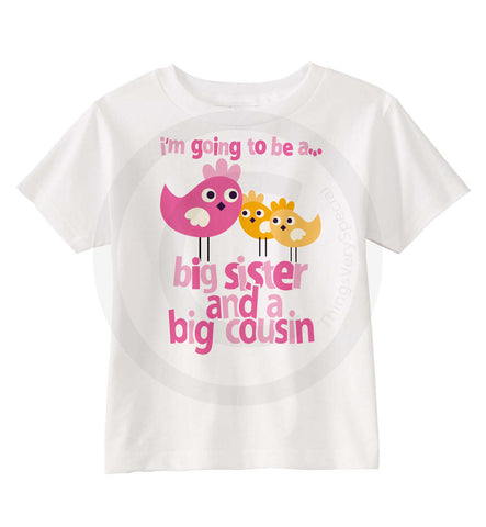 Big Cousin and Big Sister Shirt | 09142012b | ThingsVerySpecial