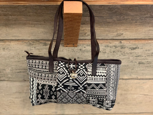 Short Purse - MIX black & white