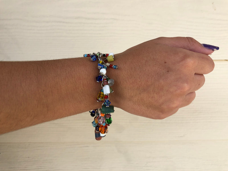 Charm Bracelet - Glass Bead