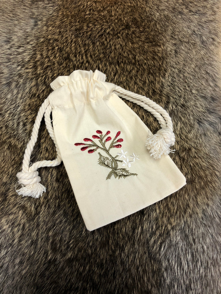 Embroidered Bag - Purple Berry