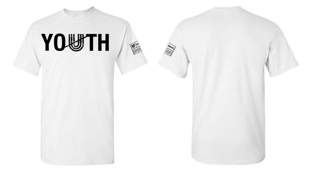 Unapologetic Youth Tee (white/black)