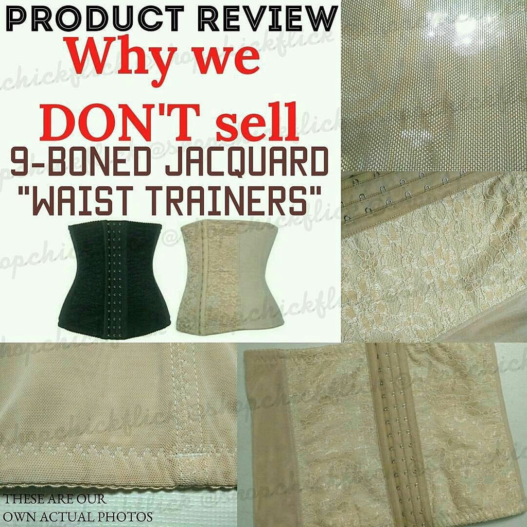 PRODUCT REVIEW: Jacquard Waist Trainers