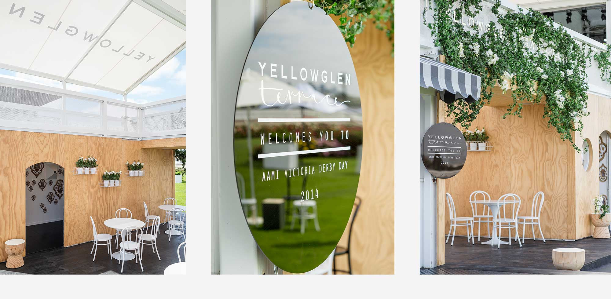 YELLOWGLEN TERRACE <BR> MELBOURNE CUP CARNIVAL <BR> YEAR ONE