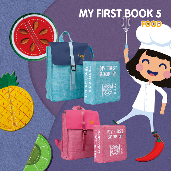 MY FIRST BOOK - FOOD