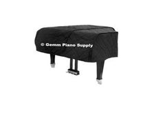 "Grand Piano Padded Covers with Straps and ""D"" Ring"