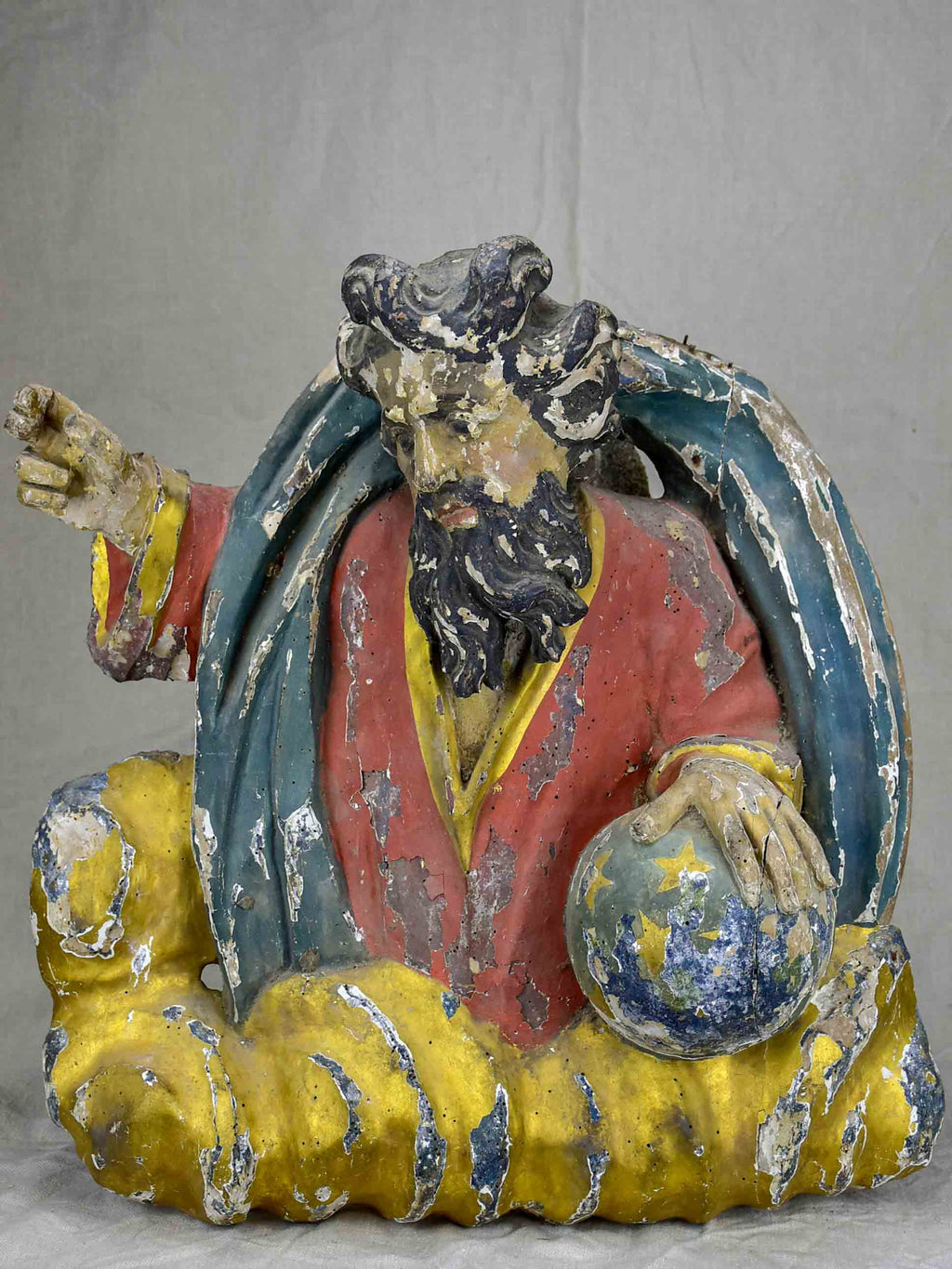 Antique sculpture of Christ from a church