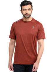 Dry Tech Light Running & Training Tshirt - Anthra Rust