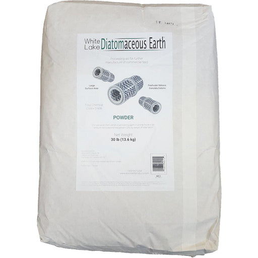 White Lake Diatomaceous Earth™ (Food Grade) 13.6 KG Bag