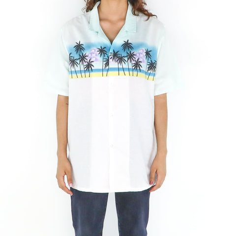 Palms & Beach Blouse