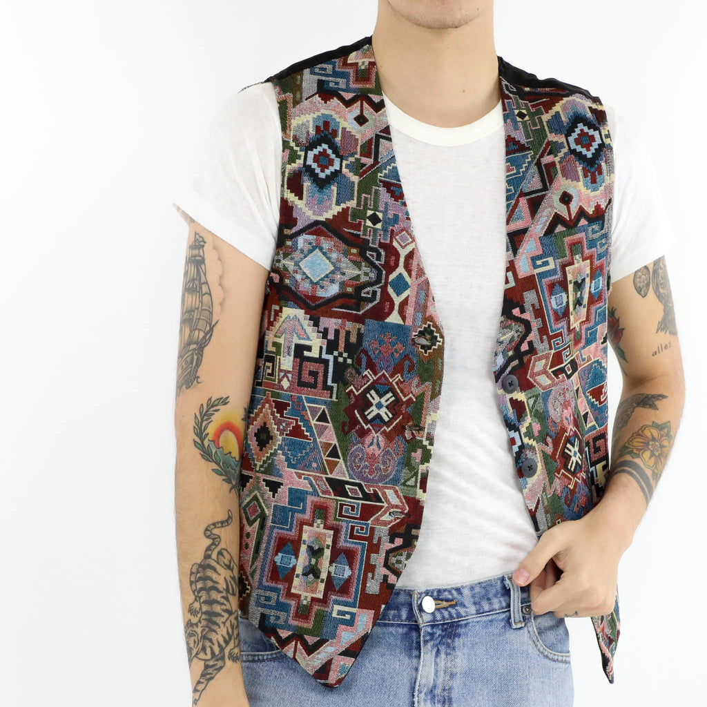 South Western Woven Vest