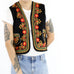 Embroidered Afghan Vest