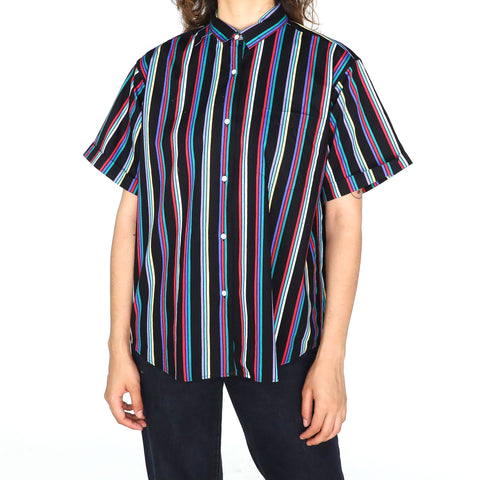 80's Striped Blouse