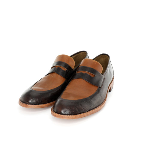 Penny Loafer - Tanned & Brown Men's