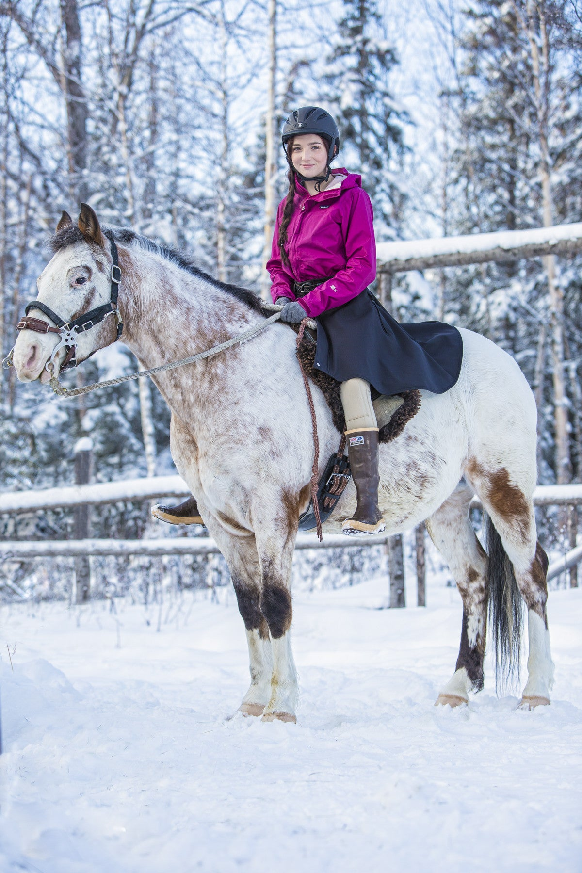 Arctic Horse Tongass Rain Riding Skirt rain pants riding breeches