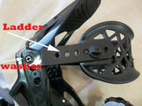 Replacement Plastic WASHER for Ladder Strap on Snowboard Bindings Each