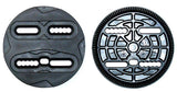 Replacement Discs for Most Large- XL Snowboard Bindings 8.5 inner -10.5 cm outer