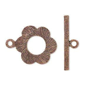 Toggle Clasp Antique Copper
