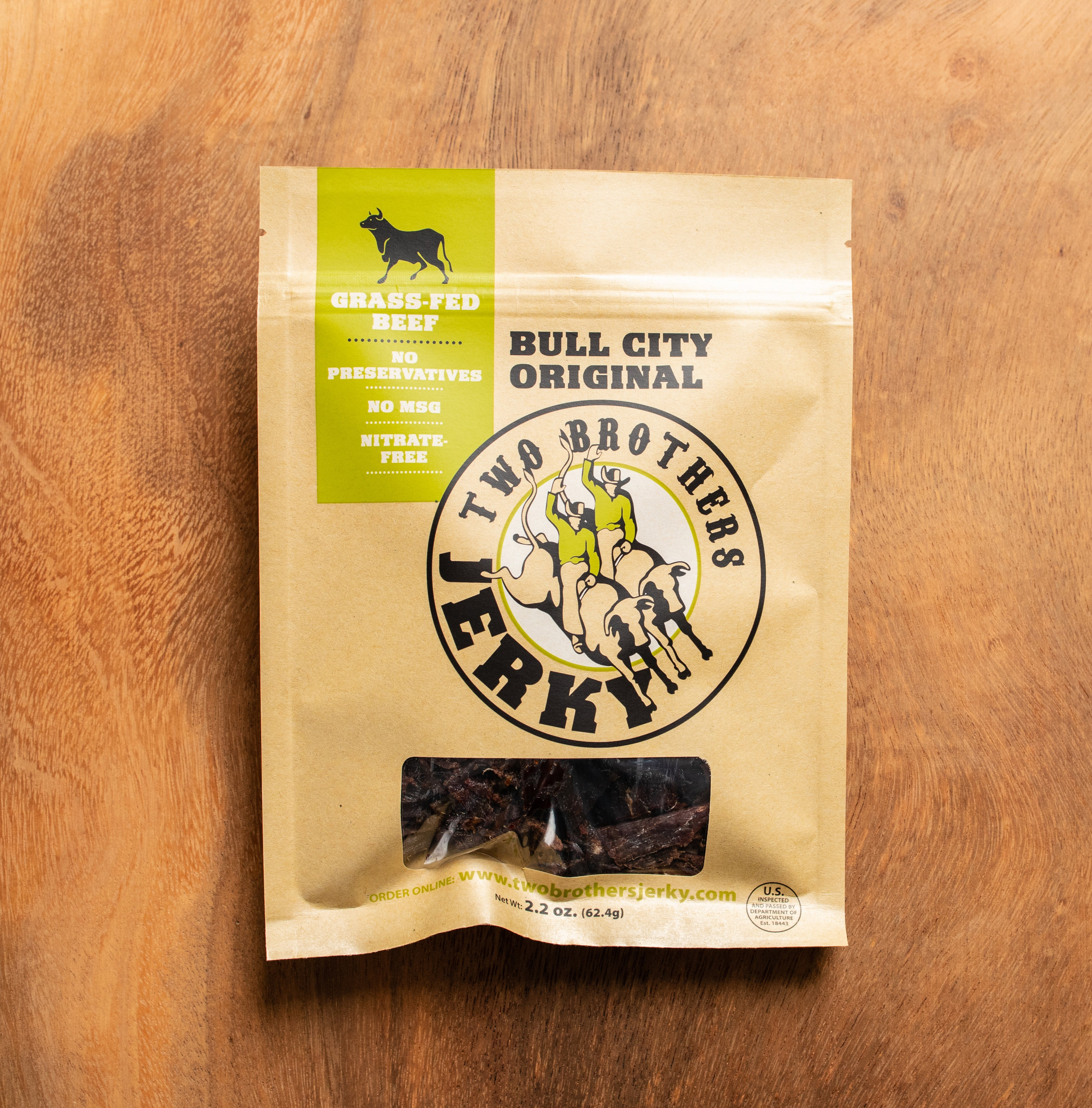 Bull City Original Beef Jerky
