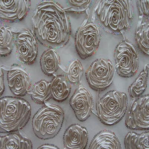 Satin Embroidery Lace