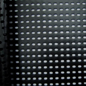 Perforated Pleather