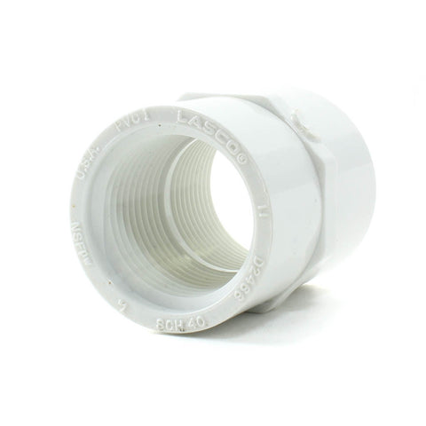 PVC Schedule 40, Coupling FPT x FPT - Savko Plastic Pipe & Fittings