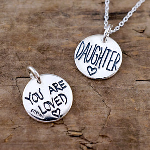 daughter charm you are loved gift