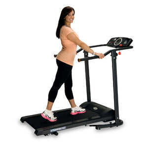 Exerpeutic TF1000 High Capacity Walk to Fit Electric Treadmill with Pulse - Indoor Cyclery