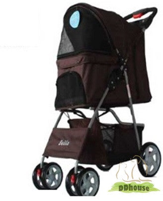 Pet stroller pet pram pet carrier ddhouse online pet supplies