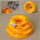 3 Tier Cat Toy Tower of Tracks - DDhouse Singapore Online Pet Supplies and Pet Products - 4