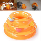 3 Tier Cat Toy Tower of Tracks - DDhouse Singapore Online Pet Supplies and Pet Products - 6