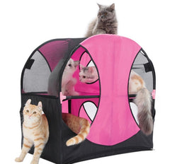 Wheel for Fun Cat Play Tent Canopy