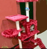 Royal Red Classic Cat Tree