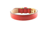 Frida - Leather - Ruby Red
