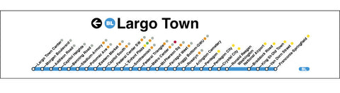 Blue (Largo Town)  Poster