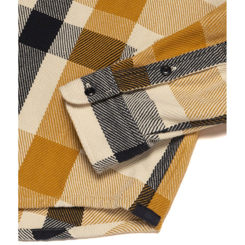 Outerknown - Blanket Shirt - Saffron high Desert Plaid