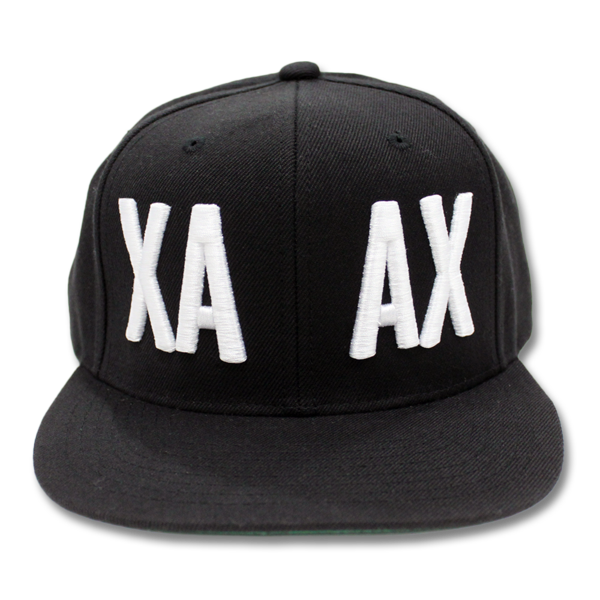 XA AX Embroidered Snapback Hat