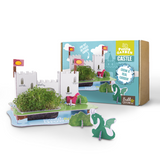 3D Castle puzzle garden - Peach Perfect