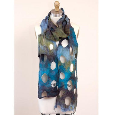 Artfelt Holey Scarf Felting Kits-Kits-Paradise Fibers