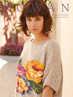 Rowan Knitting and Crochet Magazine Pattern Book #53