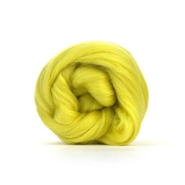 Paradise Fibers Solid Colored Merino Wool Top - Laburnum
