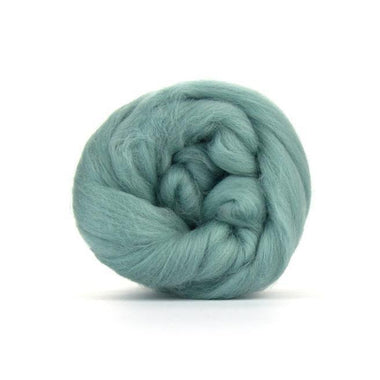 Paradise Fibers Solid Colored Merino Wool Top - Teal
