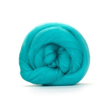 Paradise Fibers Solid Colored Merino Wool Top - Spearmint
