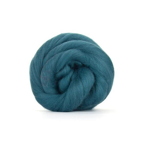 Paradise Fibers Solid Colored Merino Wool Top - Duck Egg