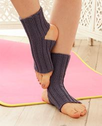 Let's Do It Yoga Socks Pattern-Patterns-Paradise Fibers