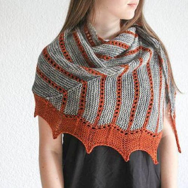 Wiz Shawl Kit featuring MadelineTosh-Kits-Paradise Fibers